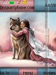 Winter Coats theme screenshot