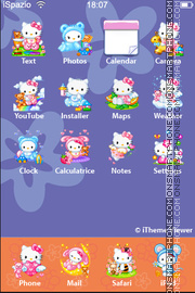 Hello Kitty 42 es el tema de pantalla