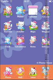Скриншот темы Hello Kitty 42