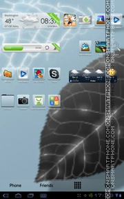 ClearView HD theme screenshot