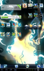 Thunder 01 theme screenshot