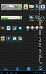 Blux 01 theme screenshot