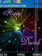 Скриншот темы Happy Diwali 2018