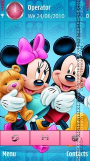 Mickey Mouse theme screenshot