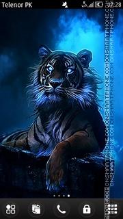 Blue king theme screenshot