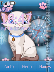 Cat theme screenshot