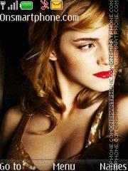 Sizzling Emma Watson theme screenshot