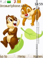 Скриншот темы Chip and Dale 05