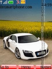 Audi R8 33 es el tema de pantalla