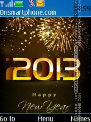 Happy 2013 01 tema screenshot