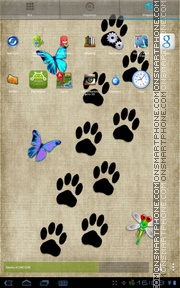 Leopard Cat theme screenshot