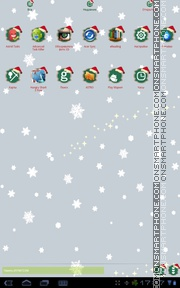 Christmas Holiday tema screenshot