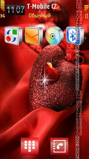 Heart 24 theme screenshot