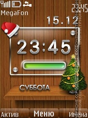 New Year Battery theme screenshot