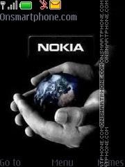 Скриншот темы Nokia World