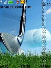 Golf es el tema de pantalla