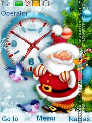 Santa es el tema de pantalla