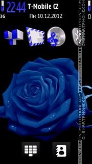 Neon Rose theme screenshot