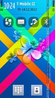 Butterfly 34 tema screenshot