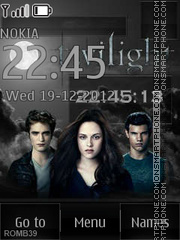 Twilight Saga By ROMB39 tema screenshot