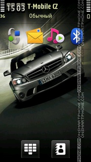 Mercedes Benz 09 theme screenshot