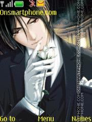 Kuroshitsuji Sebastian es el tema de pantalla