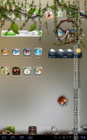 Dryad 01 tema screenshot