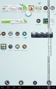 Fresh 04 tema screenshot