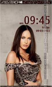 Megan Fox 04 theme screenshot