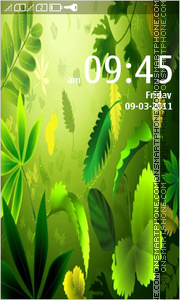 Greenery theme screenshot