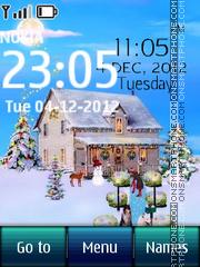Snow Cabin Digital theme screenshot
