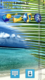 Maldives Freedom To Relax theme screenshot