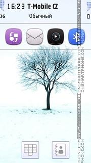 Winter 17 es el tema de pantalla