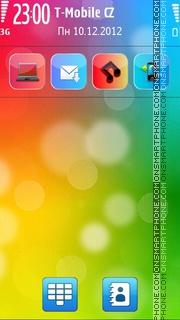 Ozo Abstract theme screenshot