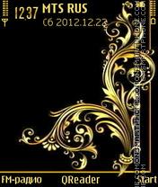 Golden-art theme screenshot