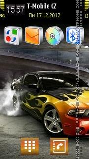 Скриншот темы American Car