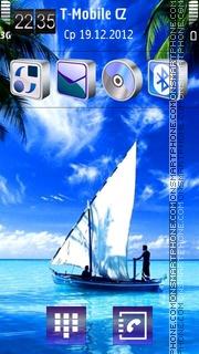 Sail 01 es el tema de pantalla