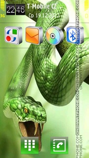 Snake 05 theme screenshot