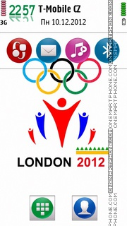 Olympics 2012 theme screenshot
