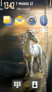 Unicorns 01 theme screenshot