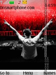 DJ Tiesto 05 es el tema de pantalla