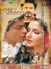 Jab Tak Hai Jaan theme screenshot