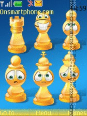 Chess Smileys theme screenshot