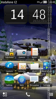 Winter HD theme screenshot
