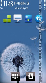 Galaxy S3 theme screenshot