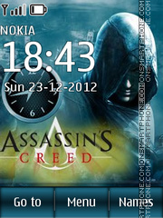 Assassins Creed 13 theme screenshot