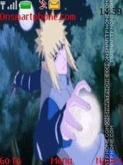 Скриншот темы Naruto Minato Hokage