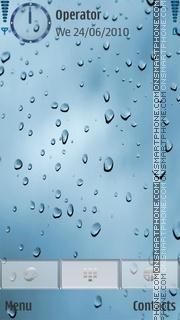 Rainyscreen theme screenshot
