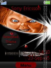 Capture d'écran Chucky thème