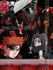 Akatsuki theme screenshot